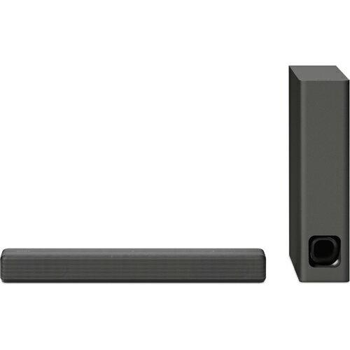 ソニー SONY バースピーカー&サブウーファー Bluetooth対応 ホームシアターシステム HT-MT300-B(チャコールブラック) サウンドバー