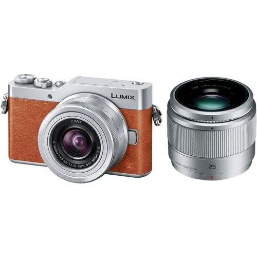 パナソニック LUMIX ミラーレス一眼レフカメラ ダブルレンズキット(オレンジ) DC-GF9W-D 4Kフォト