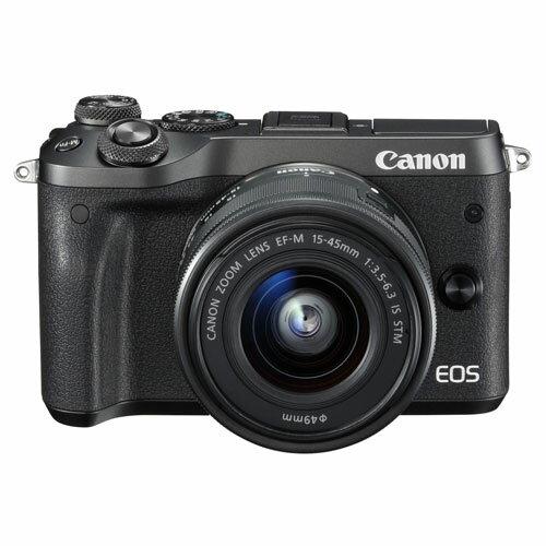 CANON EOS M6 EF-M15-45 IS STM レンズキット(ブラック)