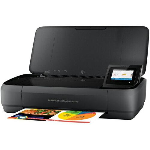 HP OfficeJet 250 Mobile AiO(ブラック) インクジェット複合機 A4対応