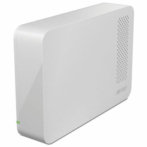 バッファロー HD-LC2.0U3-WHF(ホワイト) 外付けHDD 2TB USB3.1(Gen1)/USB3.0/2.0接続