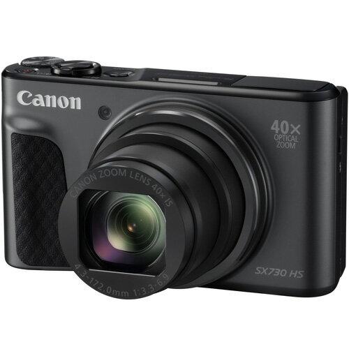 キヤノン CANON コンパクトデジタルカメラ Powershot SX730 HS(ブラック) パワーショット/コンデジ/光学40倍/チルト式液晶モニター/Wi-Fi/NFC/Bluetooth