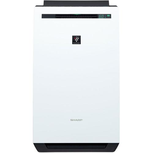 【長期保証付】シャープ KC-HD70-W(ホワイト) プラズマクラスター 除加湿空気清浄機 空清8畳/加湿18畳/除湿20畳