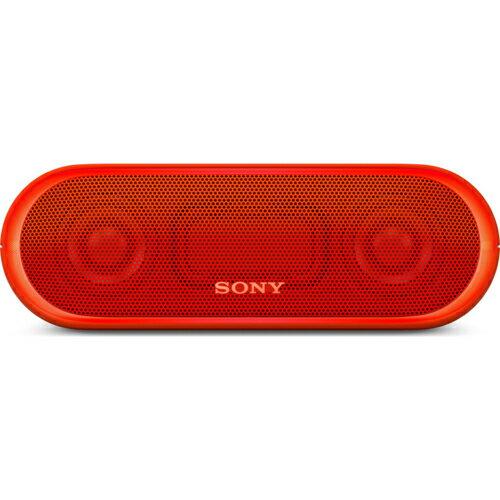 ソニー(SONY) Bluetooth対応 ワイヤレススピーカー SRS-XB20-R オレンジレッド