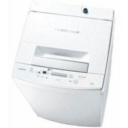 【設置】東芝 AW-45M5-W(ピュアホワイト) 全自動洗濯機 洗濯4.5kg