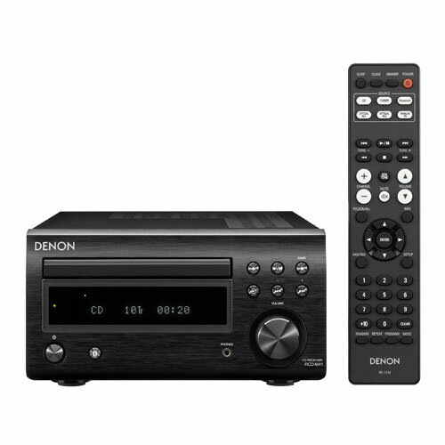 DENON RCDM41K(ブラック) CDレシーバーシステム Mシリーズ