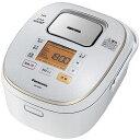 パナソニック Panasonic IHジャー炊飯器 5.5合 大火力おどり炊き スノーホワイト SR-HX107-W 全面発熱5段IH/ダイヤモンド銅釜/しゃもじ/しゃもじホルダー/軽量カップ