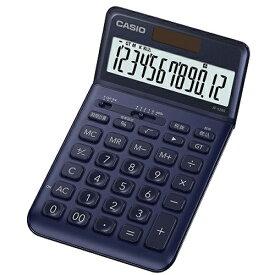 CASIO JF-S200-NY(ネイビー) スタイリッシュ電卓 12桁