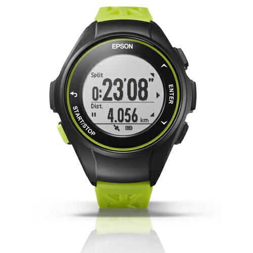 エプソン Q-10G(グリーン) Wristable GPS 腕時計タイプ