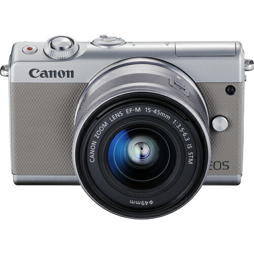 CANON EOS M100 EF-M15-45 IS STMレンズキット(グレー)