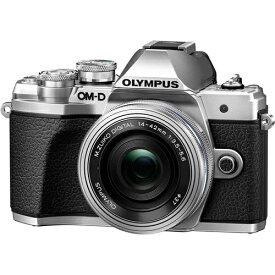 オリンパス OLYMPUS OM-D E-M10 MarkIII EZダブルズームキット シルバー ミラーレス/一眼/デジカメ/マイクロフォーサーズ