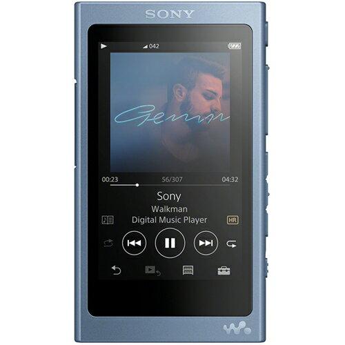 ソニー NW-A45-L(ムーンリットブルー) ソニー ウォークマンAシリーズ 16GB