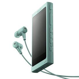 ソニー NW-A45HN-G(ホライズングリーン) ソニー ウォークマンAシリーズ 16GB