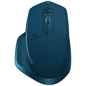 ロジクール MX2100sMT(ミッドナイトティール) Bluetooth 不可視レーザーマウス 7ボタン