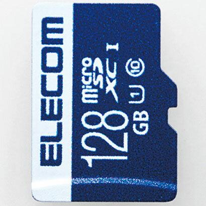 エレコム MF-MS128GU11R MF-MSU11R_XCシリーズ データ復旧microSDXCカード 128GB