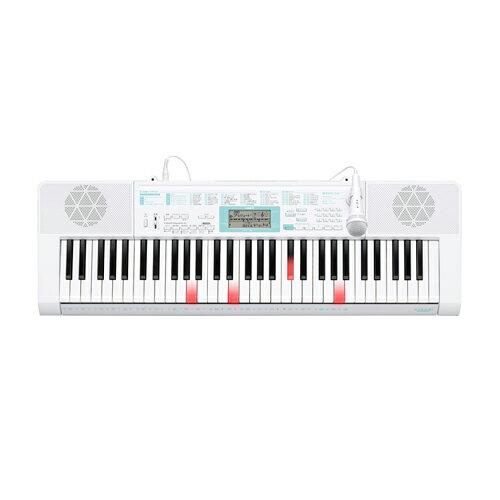 CASIO カシオ 電子キーボード 61鍵盤 光ナビゲーションキーボード LK-128 らくらくモード/SDメモリーカードスロット付/ステップアップレッスン/ダンスミュージックモード/バーチャルホール機能