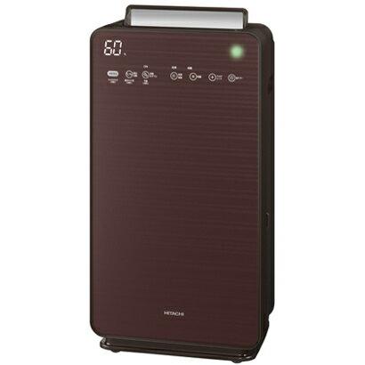 日立 EP-NVG110-T(ブラウン) 自動おそうじ クリエア 加湿空気清浄機 空気清浄48畳/加湿22畳
