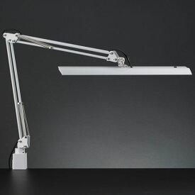 山田照明 Z-10NW(ホワイト) Z-Light LEDスタンドライト クランプ式