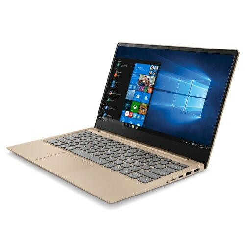 Lenovo ノートパソコン Lenovo ideapad 320S 13.3型液晶 Core i3-7100U搭載 薄い 81AK0001JP(ゴールデン)