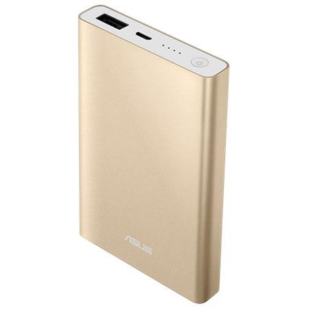 ASUS 90AC00L0-BBT011(シャンパンゴールド) ZenPower Slim 6000 スリムスタイルモバイルバッテリー 6000mAh