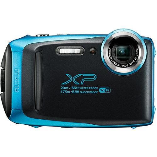 富士フイルム FUJIFILM コンパクトデジタルカメラ FinePix XP130 スカイブルー 20m防水/1.75m耐衝撃構造/-10℃耐寒/防塵/Bluetooth対応/瞳AF機能