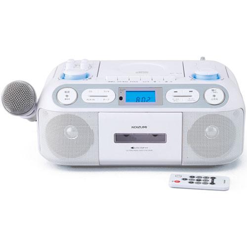 コイズミ SAD-4942/W(ホワイト) CDステレオラジカセ