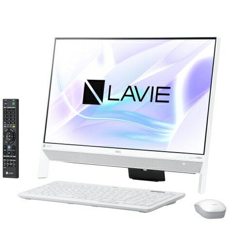 【長期保証付】NEC PC-DA700KAW(ファインホワイト) LAVIE Desk All-in-one 23.8型液晶