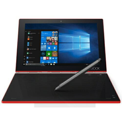 【長期保証付】Lenovo ZA150222JP YOGA BOOK with Windows(ルビーレッド) 128GB WiFiモデル 10.1型