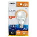 エルパ LDA4L-H-E17-G407(電球色) LED電球 ミニクリプトン球型 25W形 E17 電球色