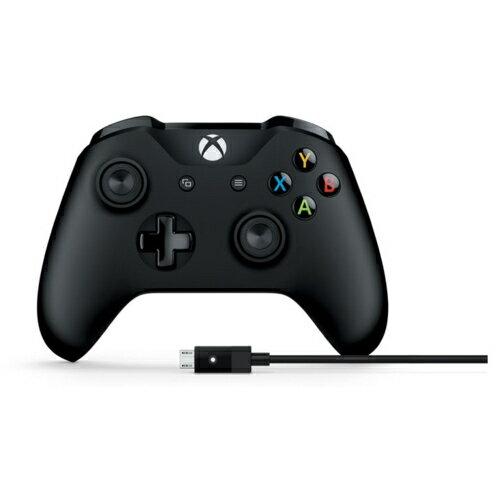 マイクロソフト 4N6-00003 Xbox コントローラー Windows用 USB ケーブル付き