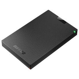 バッファロー HD-PCG1.0U3-BBA(ブラック) ポータブルHDD 1TB USB3.1(Gen1) /3.0/2.0接続 耐衝撃