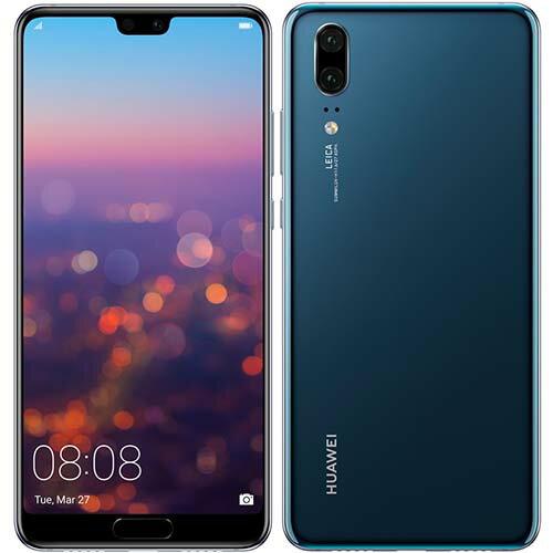 HUAWEI HUAWEI P20(ミッドナイトブルー) 4GB/128GB SIMフリー P20/BLUE