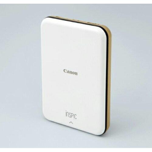 CANON iNSPiC(インスピック) PV123GD(ゴールド) ミニフォトプリンタ 5 x 7.6 cm対応