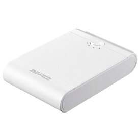 バッファロー BSMPB13410P2WH(ホワイト) スマートフォン タブレット用 モバイルバッテリー 13400mAh