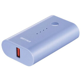 バッファロー BSMPB6720P1BL(ブルー) スマートフォン タブレット用 モバイルバッテリー 6700mAh