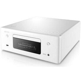 DENON RCD-N10-W(ホワイト) HEOS対応オールインワン・ネットワークCDレシーバー