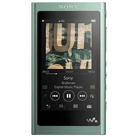 【長期保証付】ソニー NW-A57-G(ホライズングリーン) ウォークマン 64GB