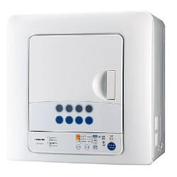 【設置+リサイクル】東芝 ED-45C-W(ピュアホワイト) 衣類乾燥機 4.5kg