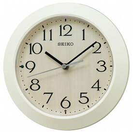 セイコー KX245A(アイボリー) スタンダード掛け時計