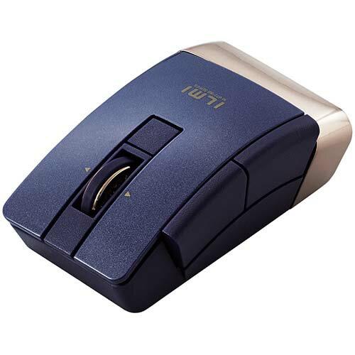 エレコム M-BT21BBBU(ブルー) Bluetooth 4.0 Ultimate Blue 6ボタンマウス