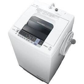 日立 NW-70C-W(ピュアホワイト) 白い約束 全自動洗濯機 上開き 洗濯7kg