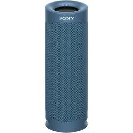 ソニー SRS-XB23 L(ブルー) ワイヤレスポータブルスピーカー