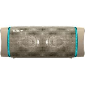 ソニー SRS-XB33 C(ベージュ) ワイヤレスポータブルスピーカー