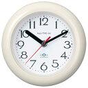 芳国産業 YT5232WH(白) 置き掛け兼用時計 アクアタイム・ネオ