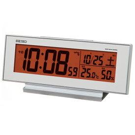 セイコー SQ792S 電波目覚まし時計