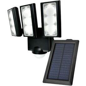 エルパ ESL-313SL LEDセンサーライト 3灯 ソーラー発電式