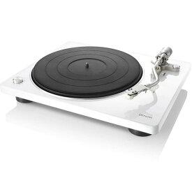 【長期保証付】DENON DP-400-W(ホワイト) レコードプレーヤー