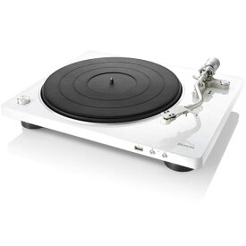 【長期保証付】DENON DP-450USB-W(ホワイト) レコードプレーヤー