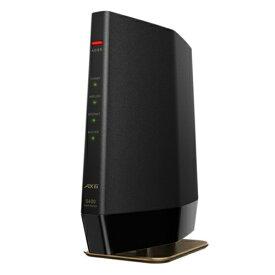 バッファロー WSR-5400AX6-MB(マットブラック) Wi-Fi 6 対応ルーター プレミアムモデル