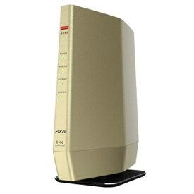 バッファロー WSR-5400AX6-CG(シャンパンゴールド) Wi-Fi 6 対応ルーター プレミアムモデル